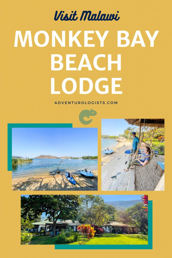 pinterest image visit malawi monkey bay beach lodge