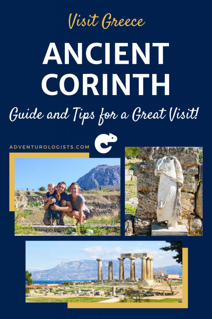 pinterest visit greece ancient corinth guide and tips for a great visit